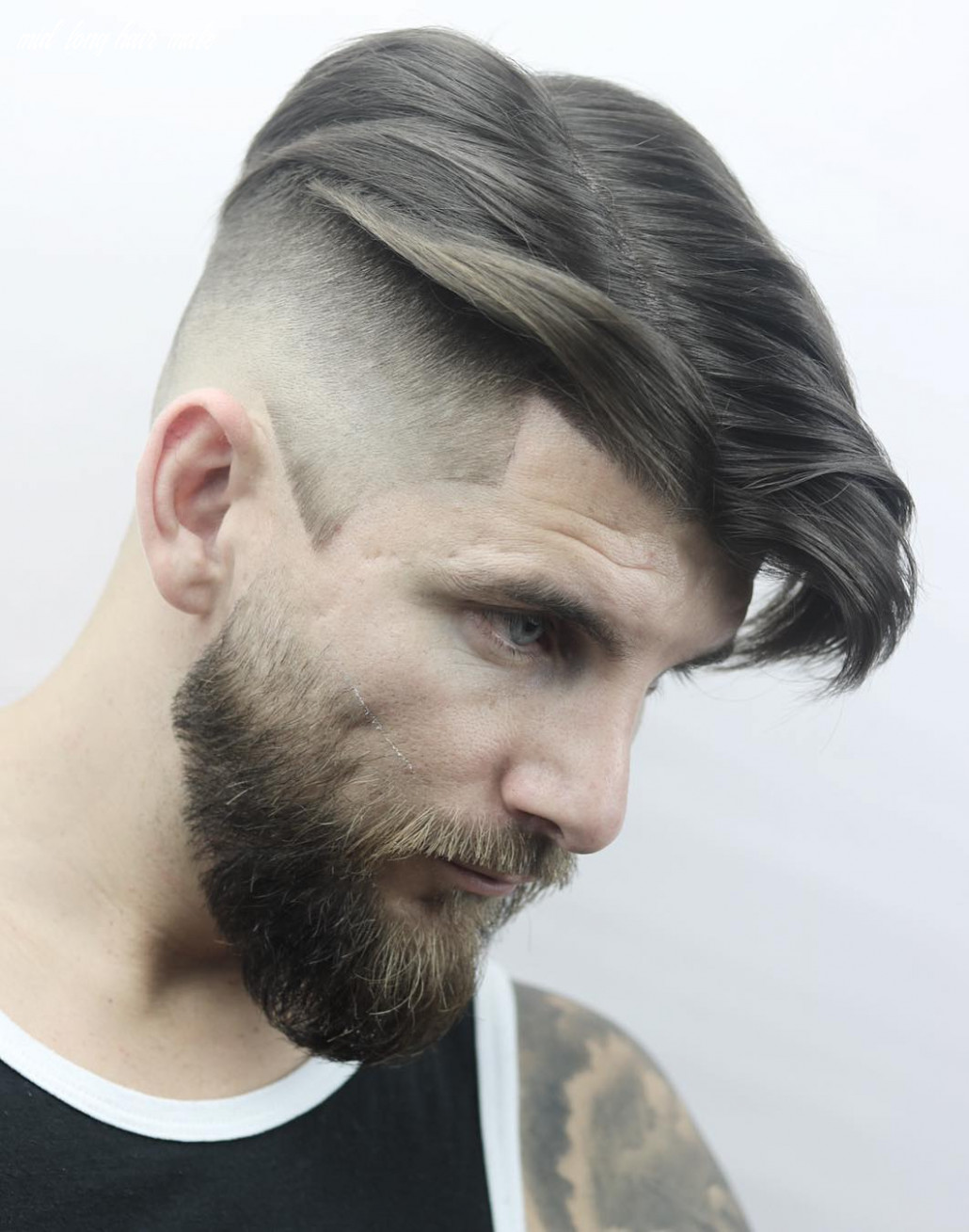 12 the best medium length hairstyles for men mid long hair male