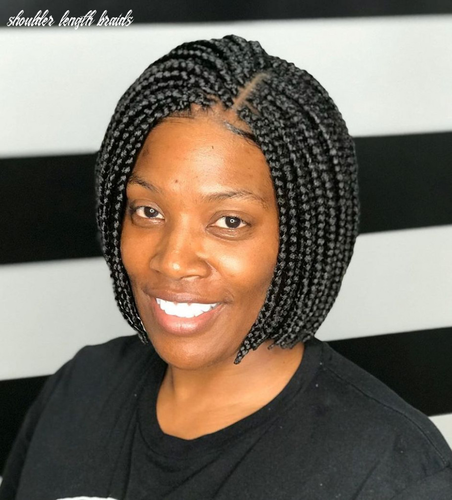 12 trendy box braids styles stylists recommend for 12 hair adviser shoulder length braids