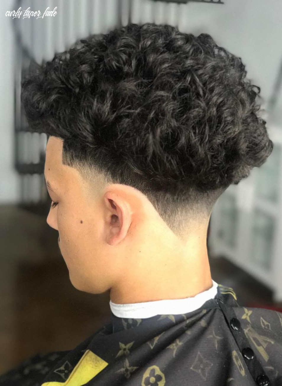 12 trendy mens taper fade hairstyles to try in 1219 | hairdo hairstyle curly taper fade