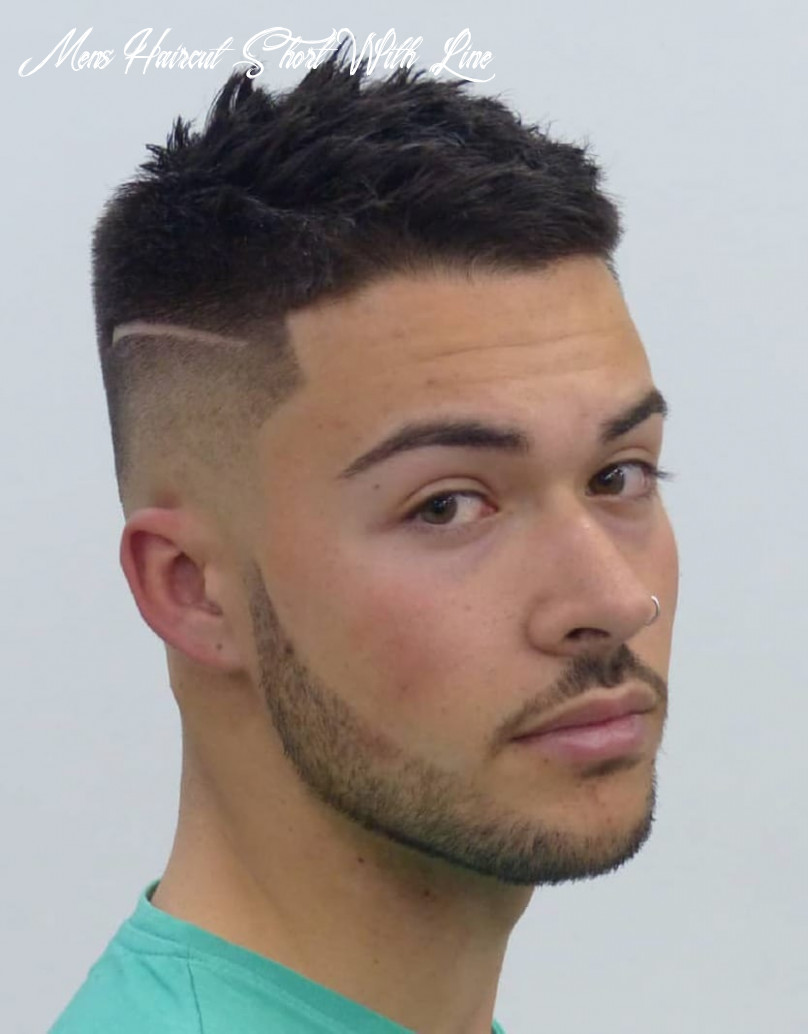 12 unique short hairstyles for men styling tips mens haircut short with line