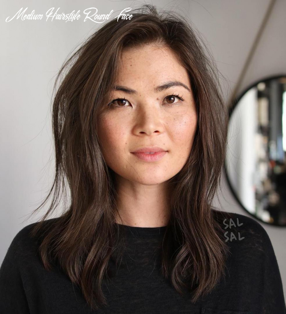 8 amazing haircuts for round faces hair adviser medium hairstyle round face