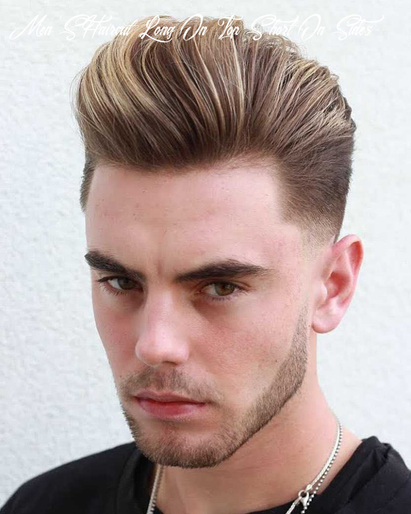 8 awesome examples of short sides, long top haircuts for men