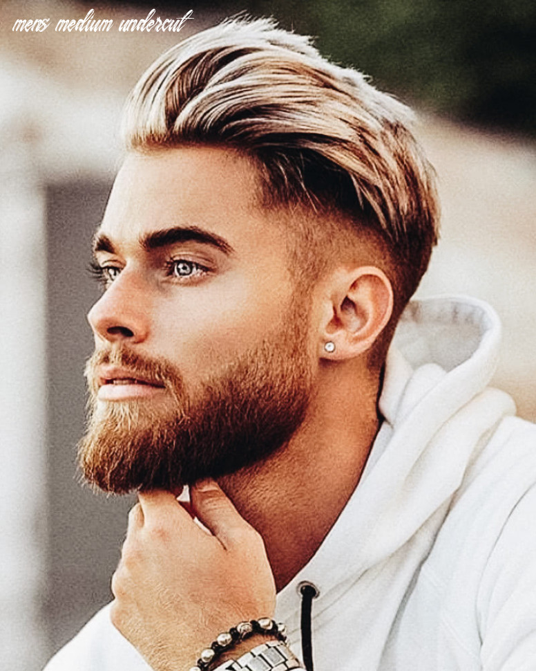 8 best medium length haircuts for men and how to style them mens medium undercut