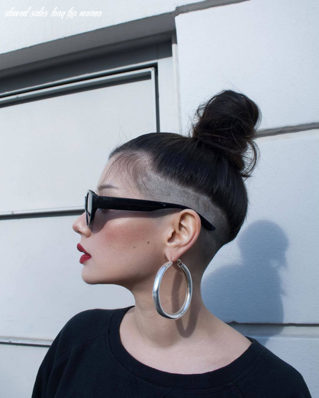8 bold shaved hairstyles for women | shaved hair designs shaved sides long top women