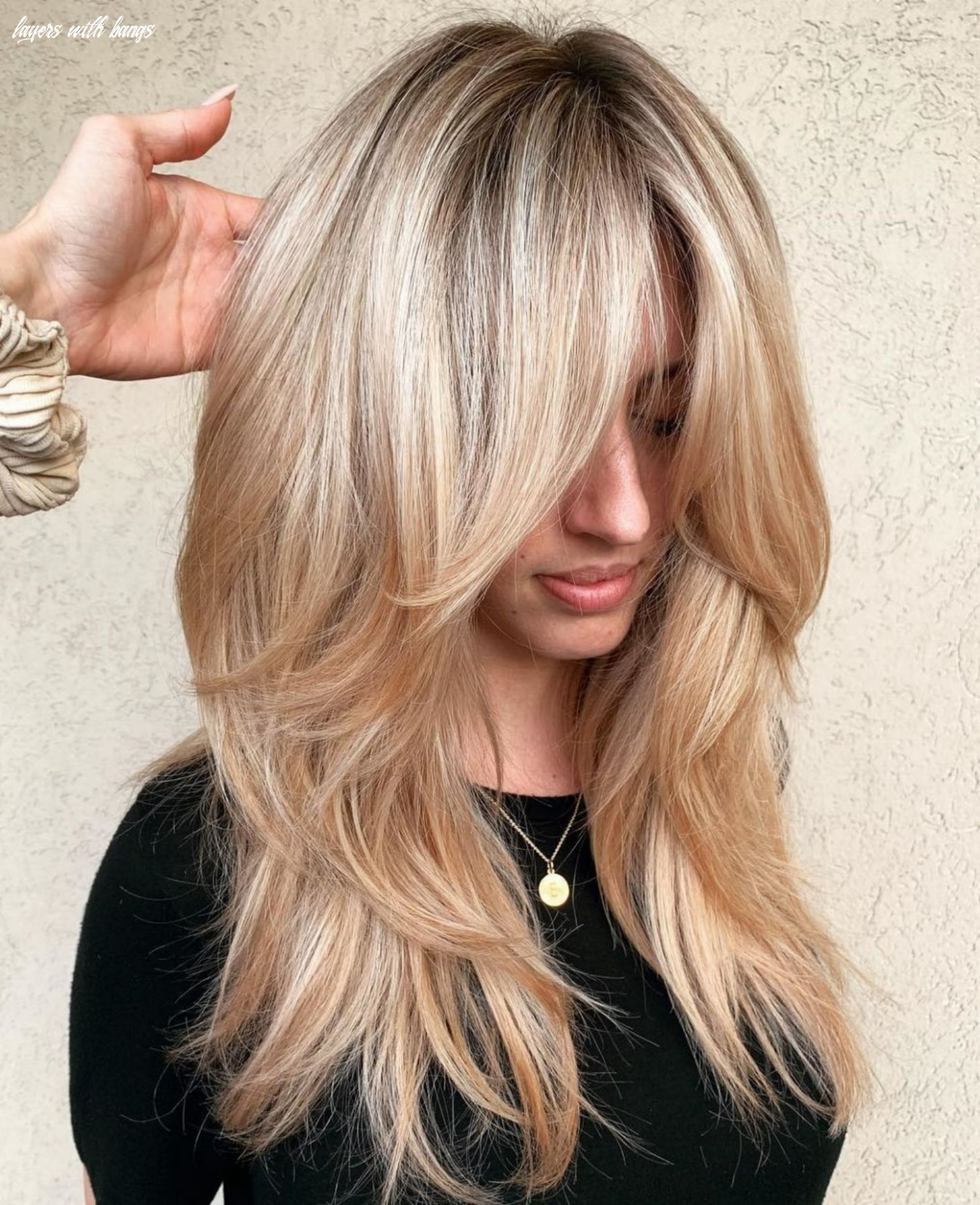 8 cute and effortless long layered haircuts with bangs