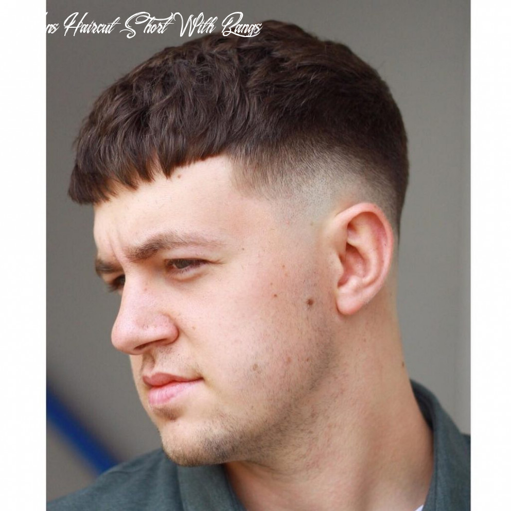 8 fringe haircuts for men > all the styles for 8 mens haircut short with bangs