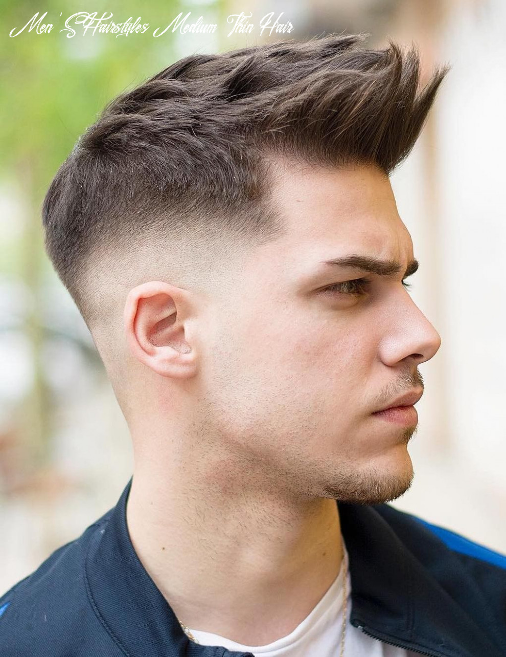 8 inspirational hairstyles for men with thin hair 8 in 8
