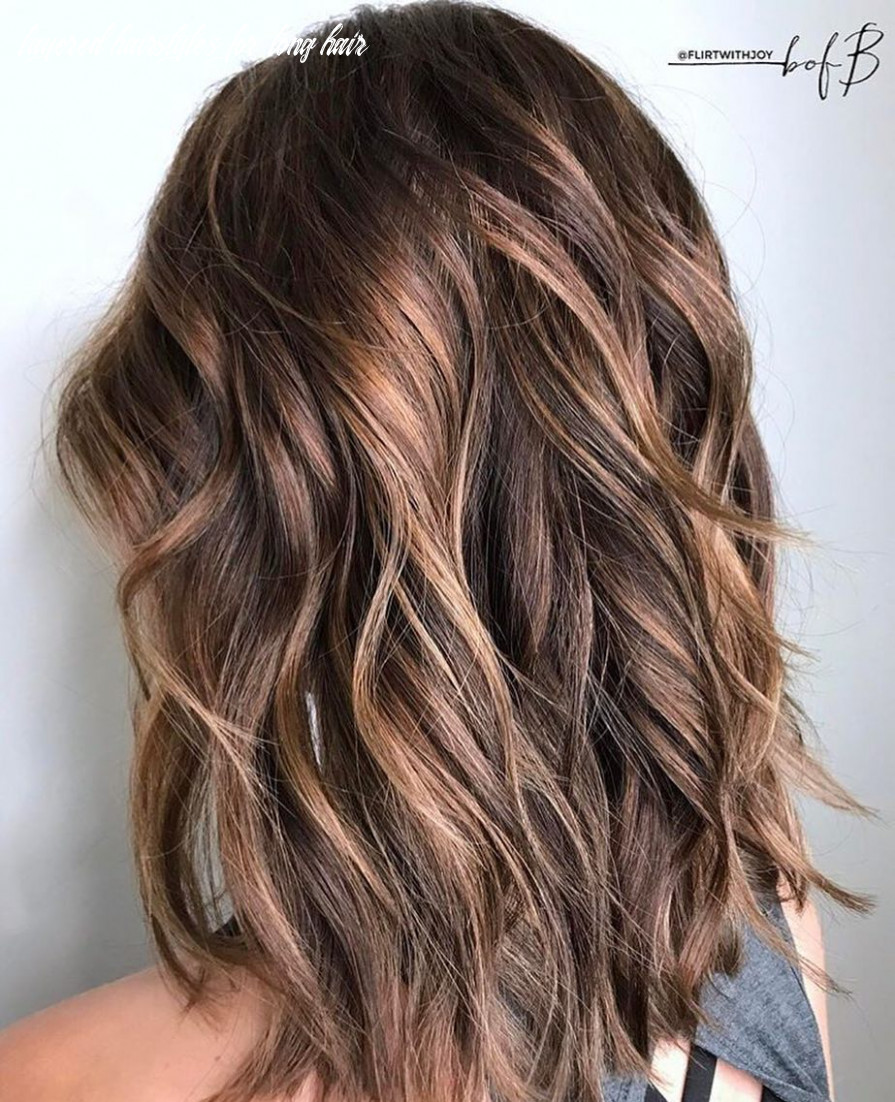 8 layered hairstyles & cuts for long hair in summer hair colors