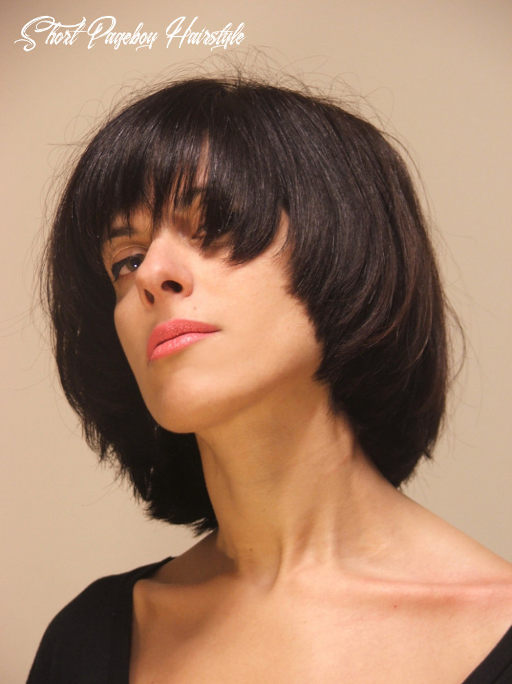 8 pageboy haircuts   learn haircuts short pageboy hairstyle
