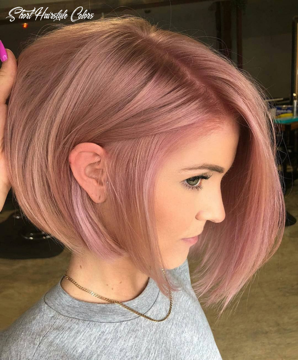 8 short hairstyles for fine hair | rose hair color, hair color