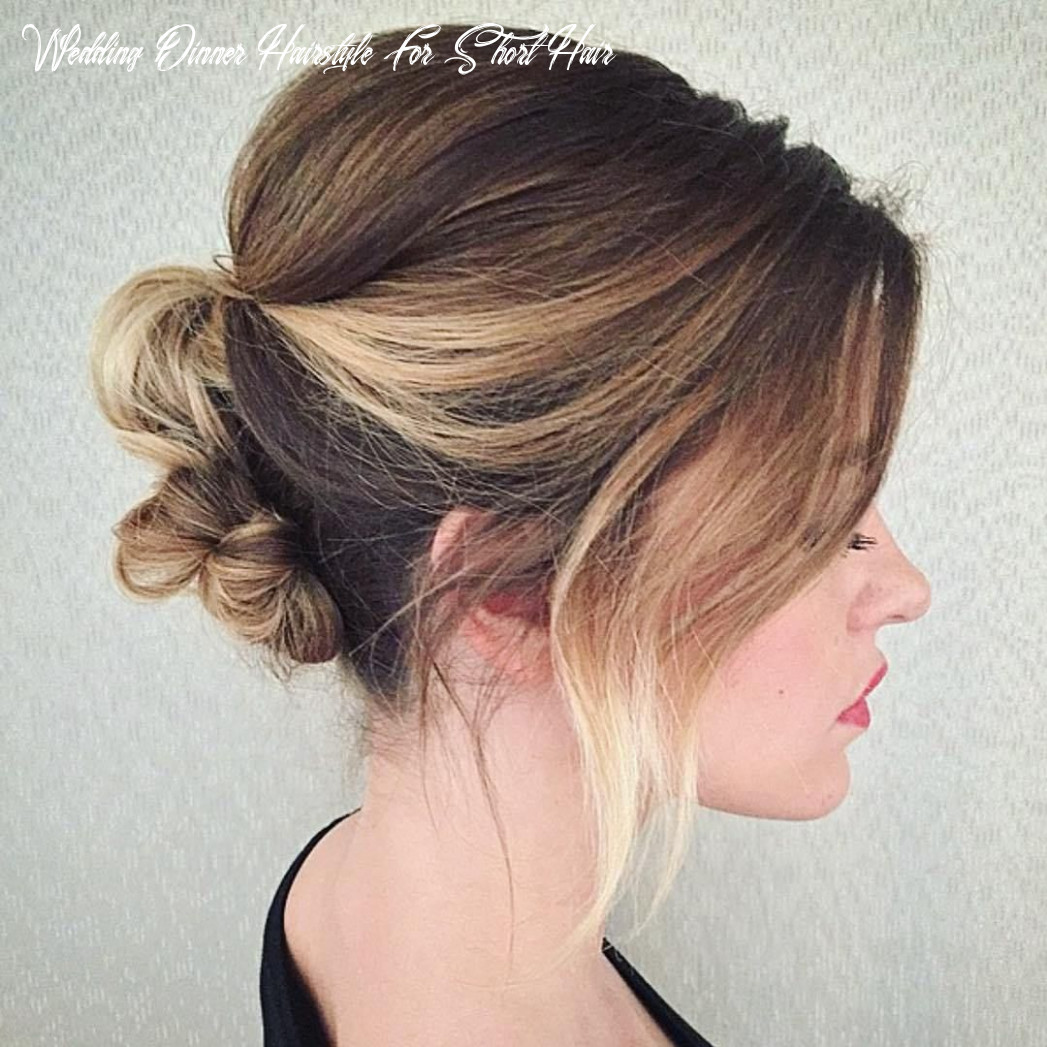 8 unapologetically pretty wedding updo ideas for short hair
