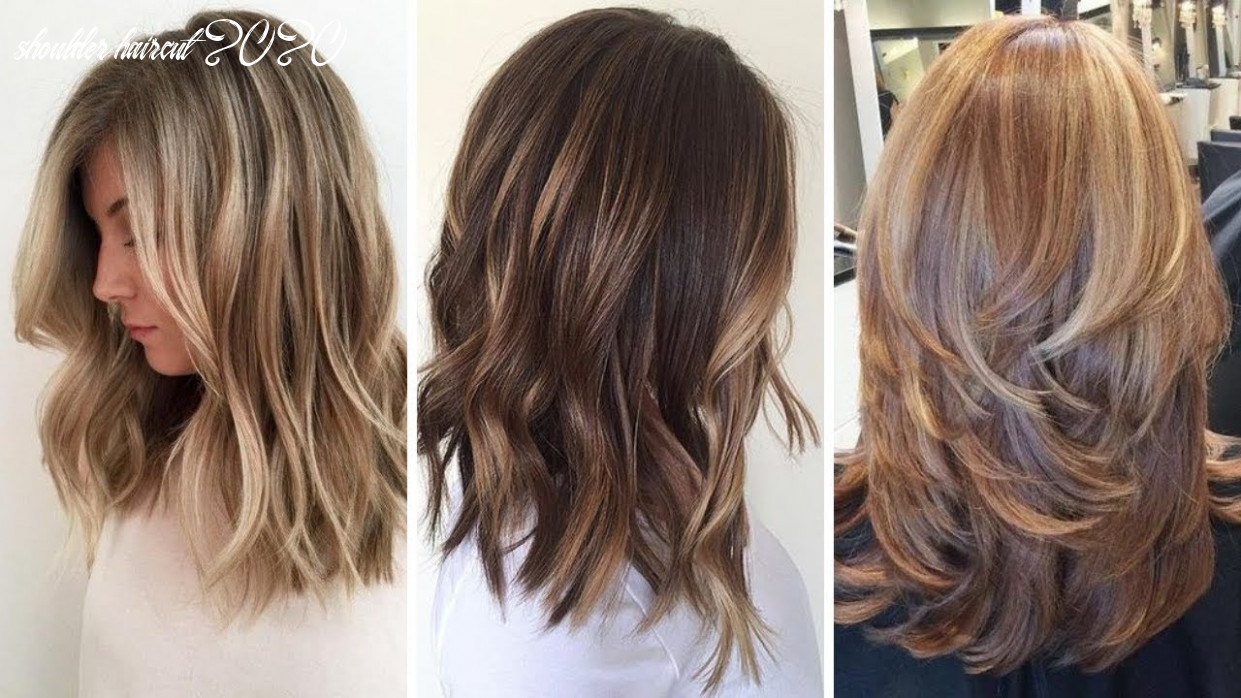 9 amazing medium hairstyles for ladies, beautiful haircuts for women 9 shoulder haircut 2020