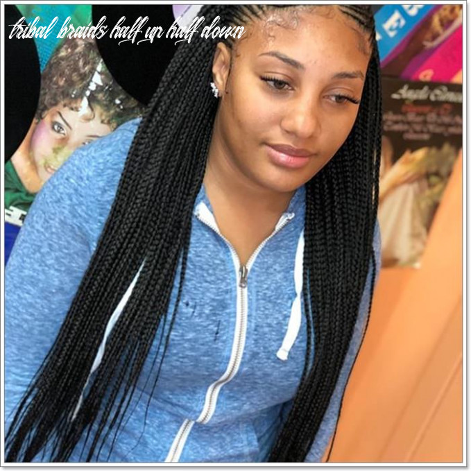 9 chic and trendy tribal braids for your inner goddess tribal braids half up half down
