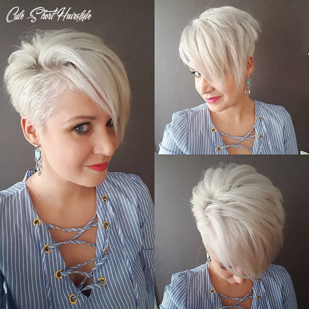 9 cute short haircuts for women wanting a smart new image, 9