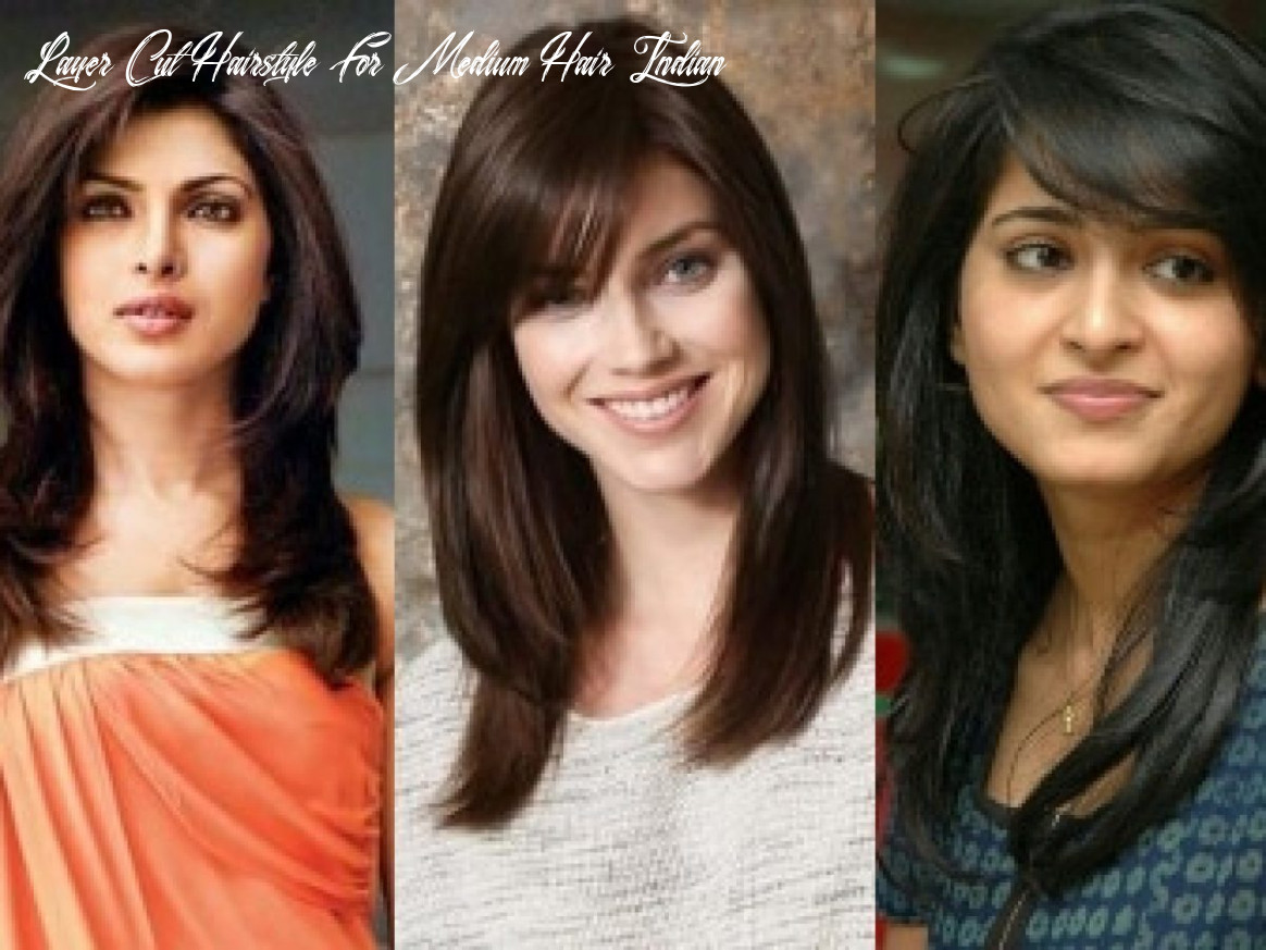 9 different feather cut styles which enhance your look layer cut hairstyle for medium hair indian