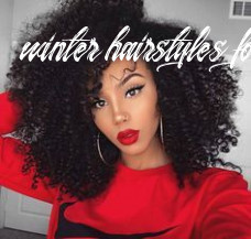 9 fall / 9 winter hairstyles for black women | coiffure