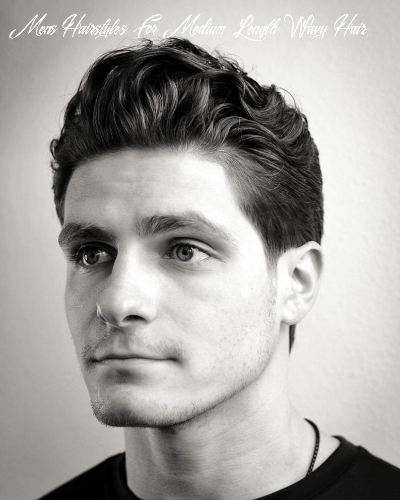 9 medium length hairstyles for men updated july 9 mens hairstyles for medium length wavy hair