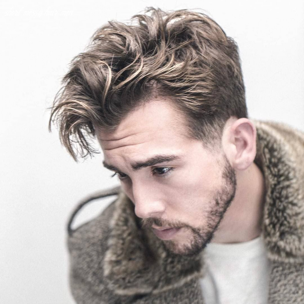 9 mess hairstyles for men that are super cool   mens messy