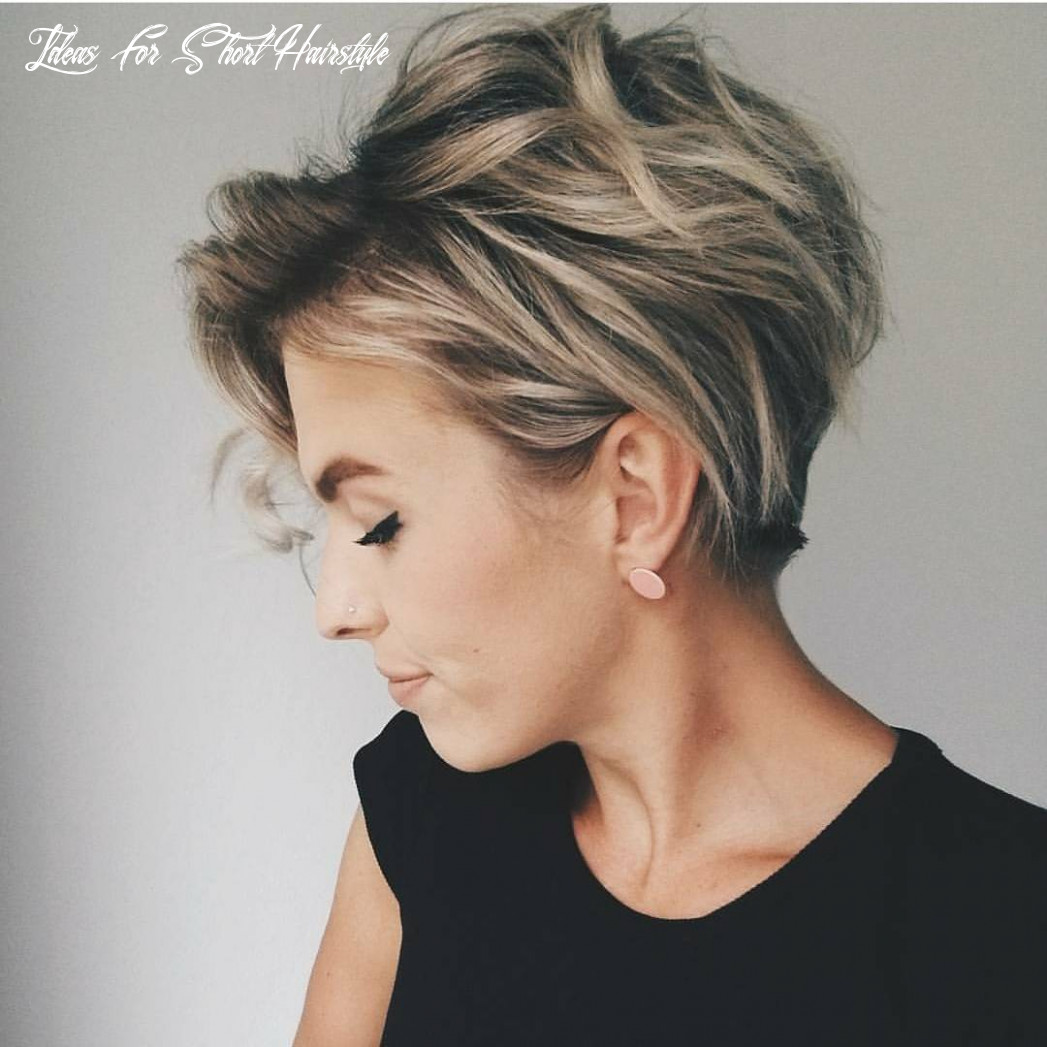 9 messy hairstyles for short hair quick chic! women short