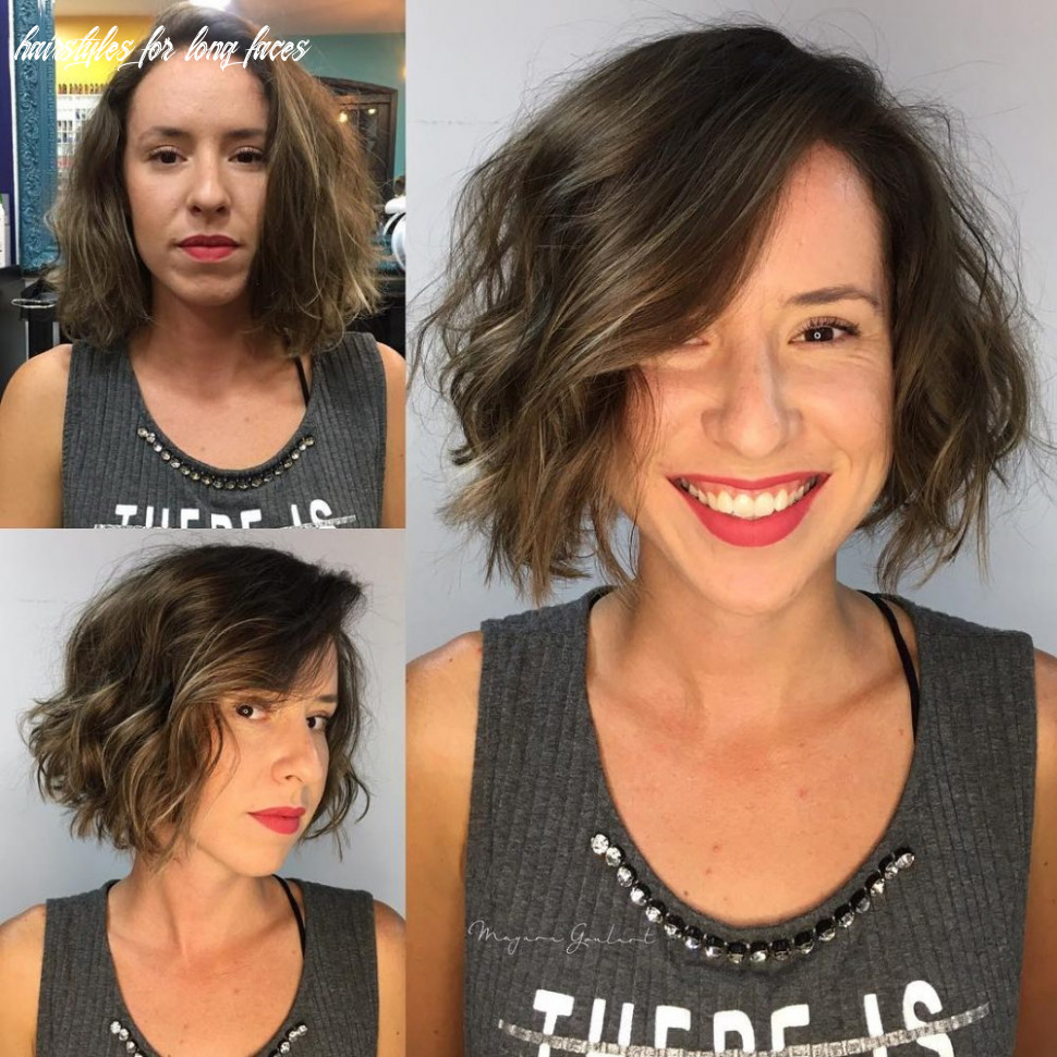 9 most flattering hairstyles for long faces to look shorter hairstyles for long faces