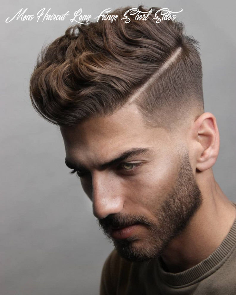 9 short on sides long on top haircuts for men   man haircuts mens haircut long fringe short sides