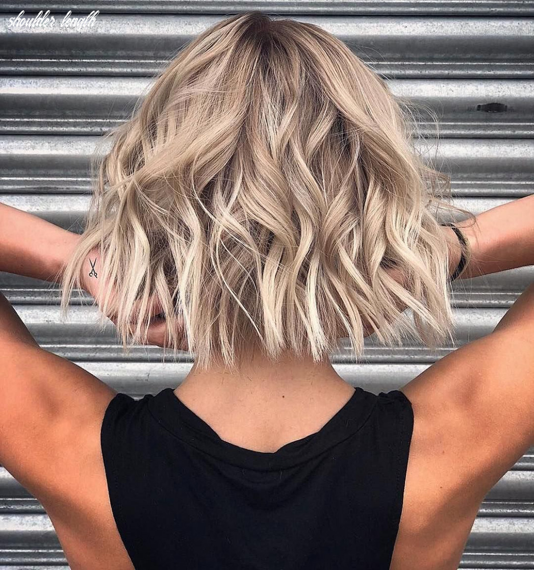 9 stylish lob hairstyle ideas, best shoulder length hair for