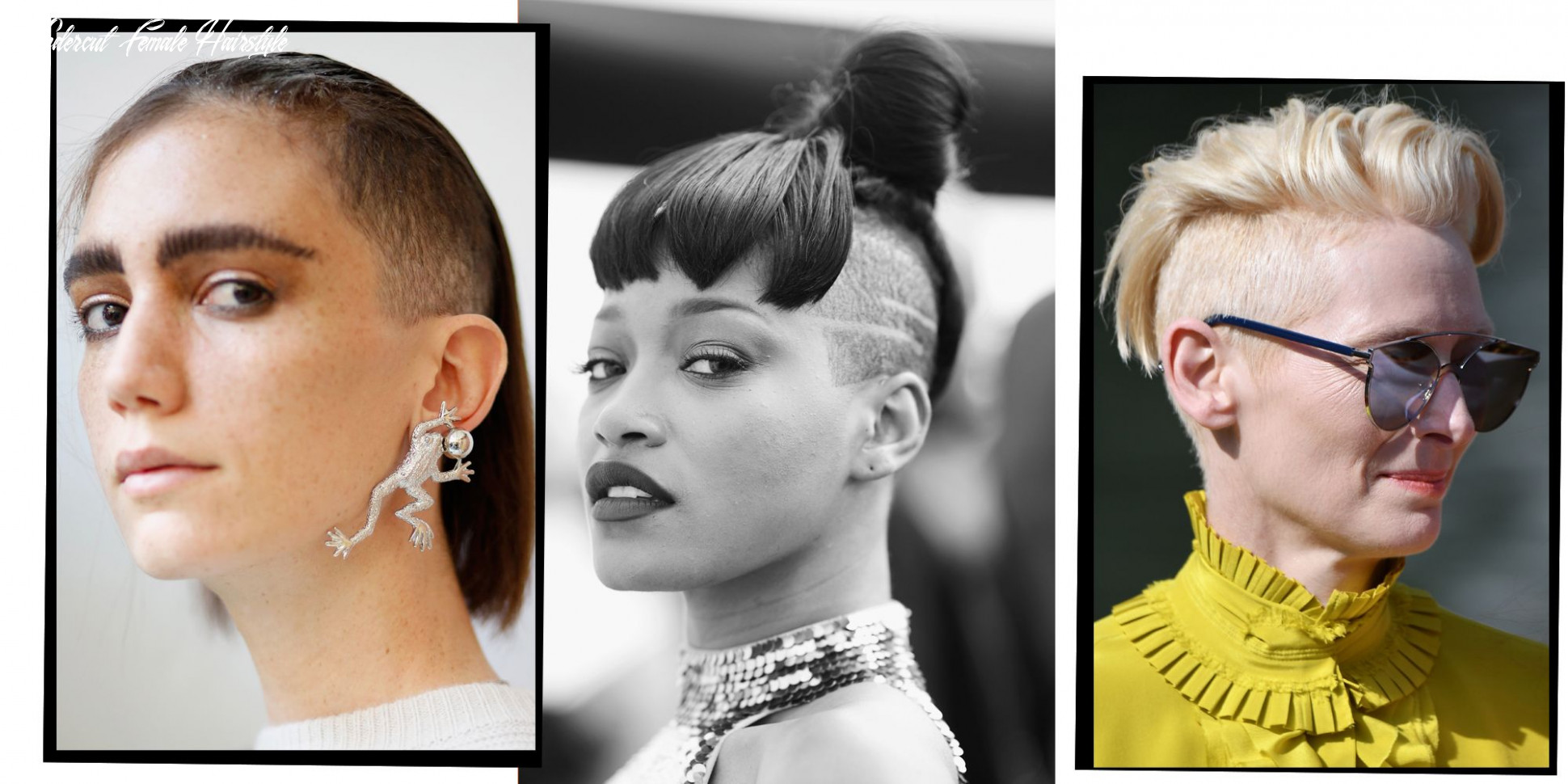 9 undercut hairstyles for women proving shaven heads are