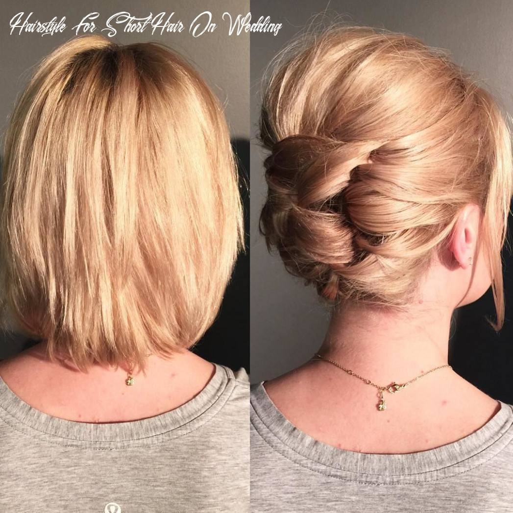 Awesome #weddinghairstyles at wedding hairstyles for very short