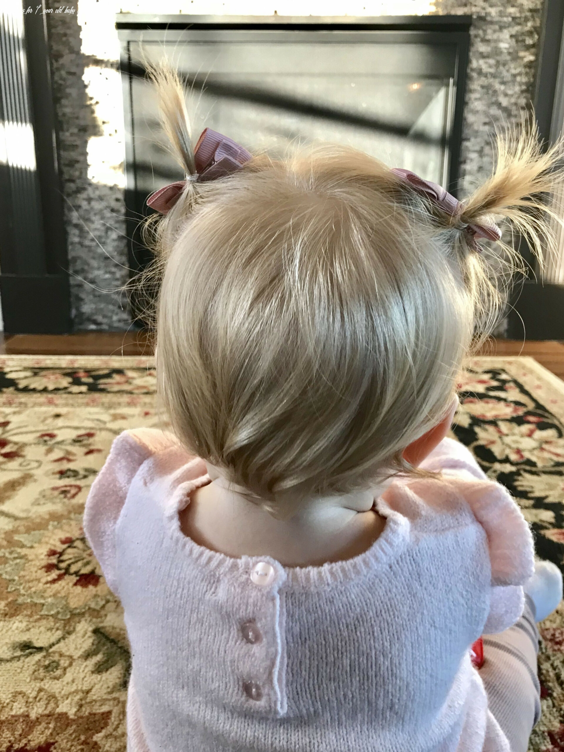 Baby girl hairstyle blonde pigtails short 12 year old   baby girl