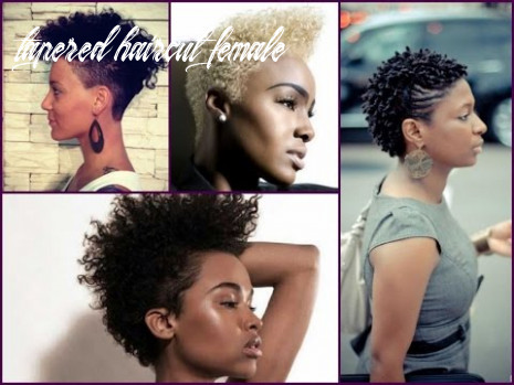 Best tapered haircut for black women! tapered haircut female