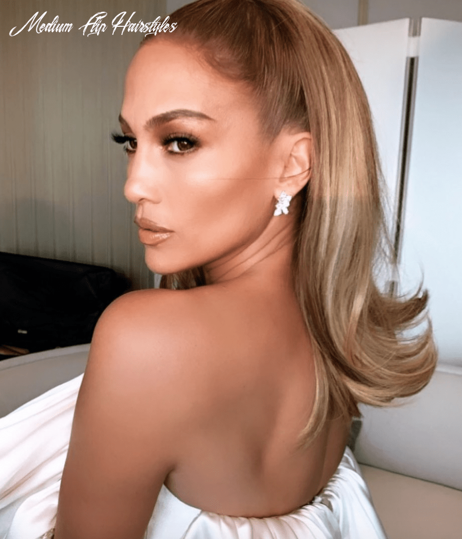 Celebrity flip hairstyles are trending for 11 | glamour medium flip hairstyles
