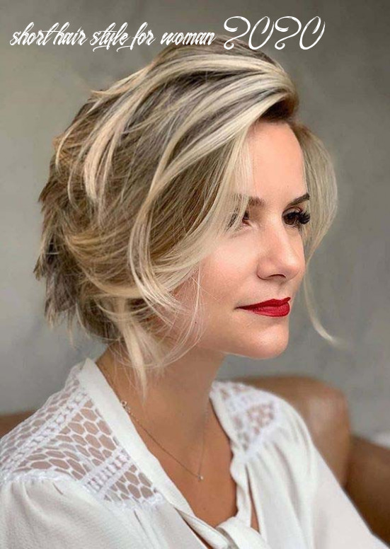 Cutest short haircut styles for women to sport in 11 short hair style for woman 2020