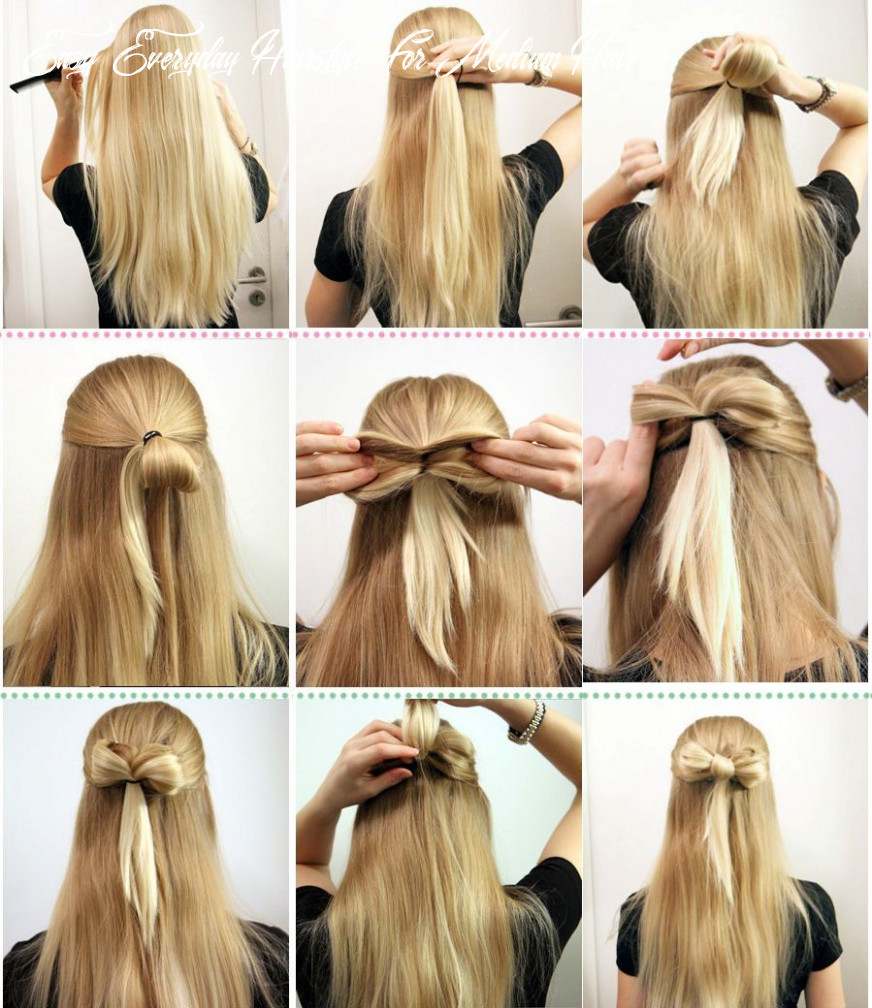 Easy everyday hairstyles : simple hairstyle ideas for women and