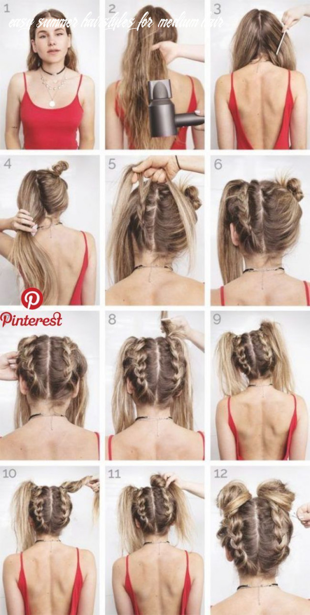 Easy summer hairstyles to keep your time and style   festival hair
