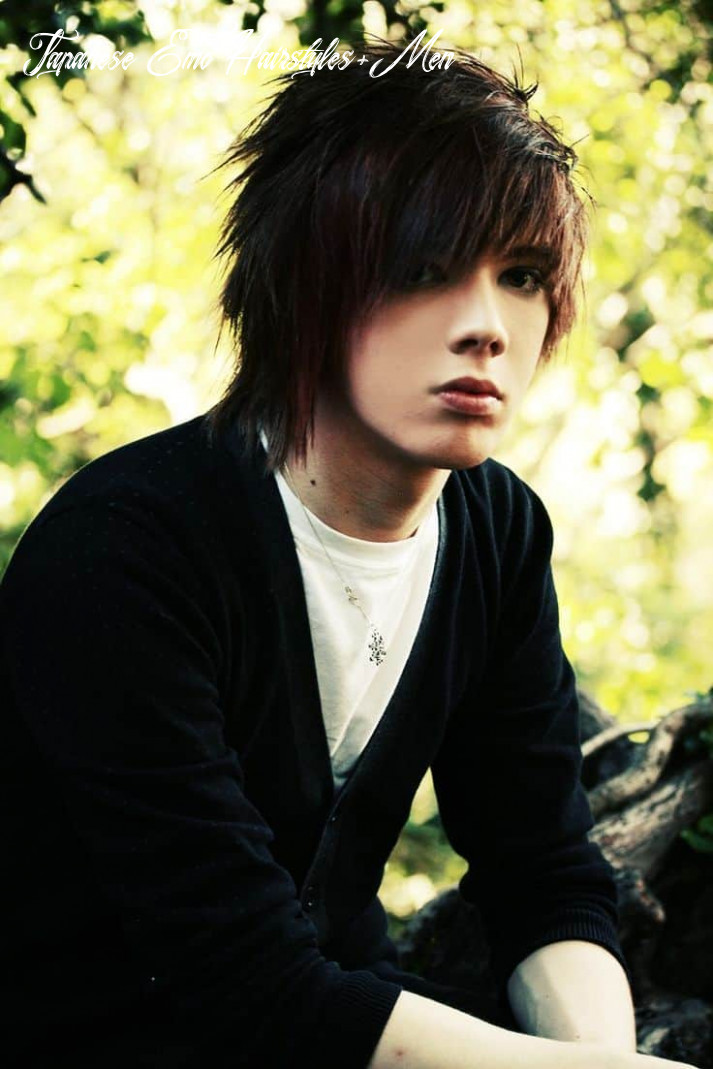 Emo hairstyles for guys with glasses folade japanese emo hairstyles men