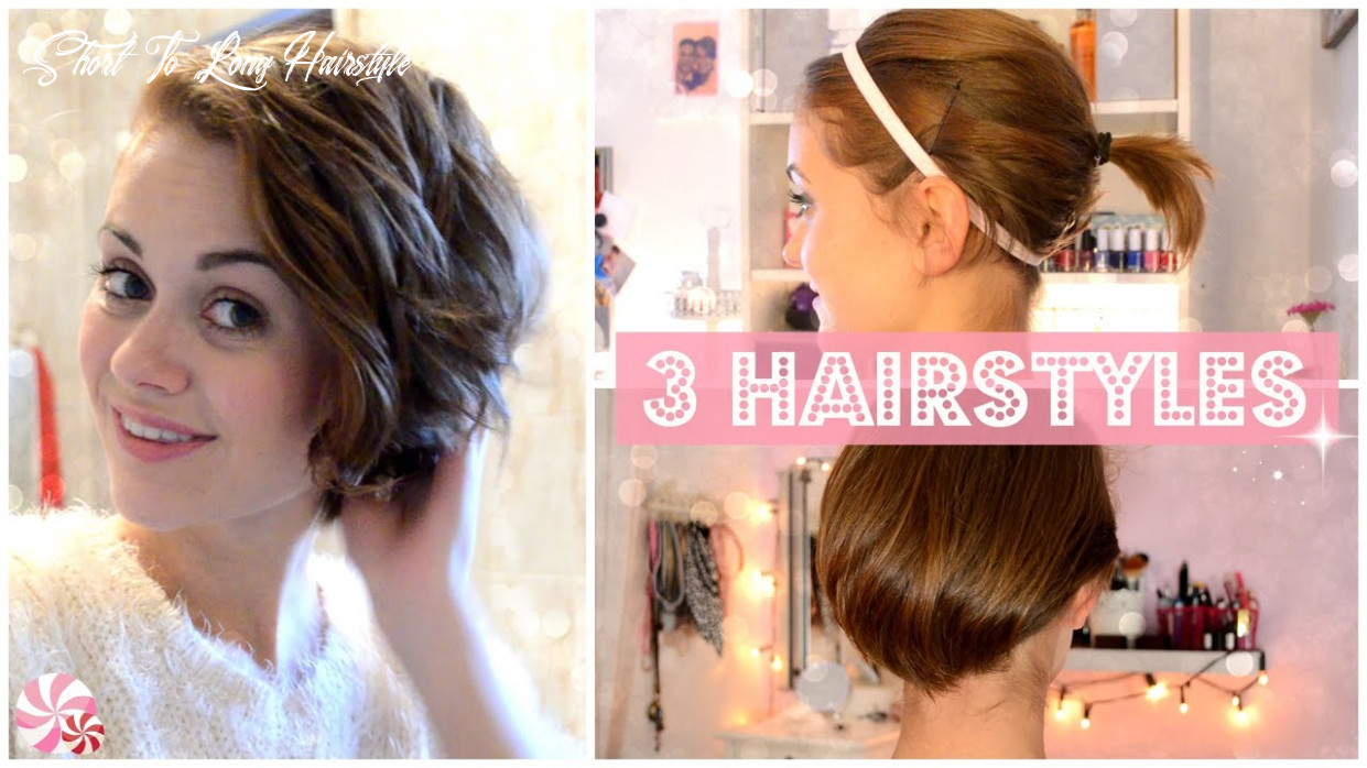 From short to long: 9 easy hairstyles [english] short to long hairstyle