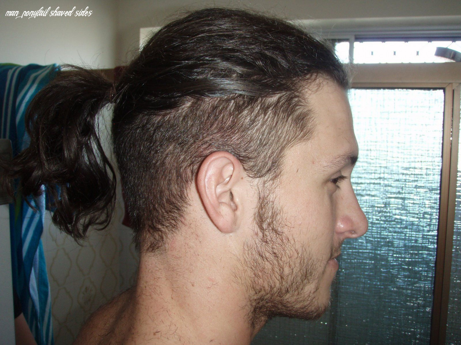 Guys with ponytails | long hair styles men, long hair on top