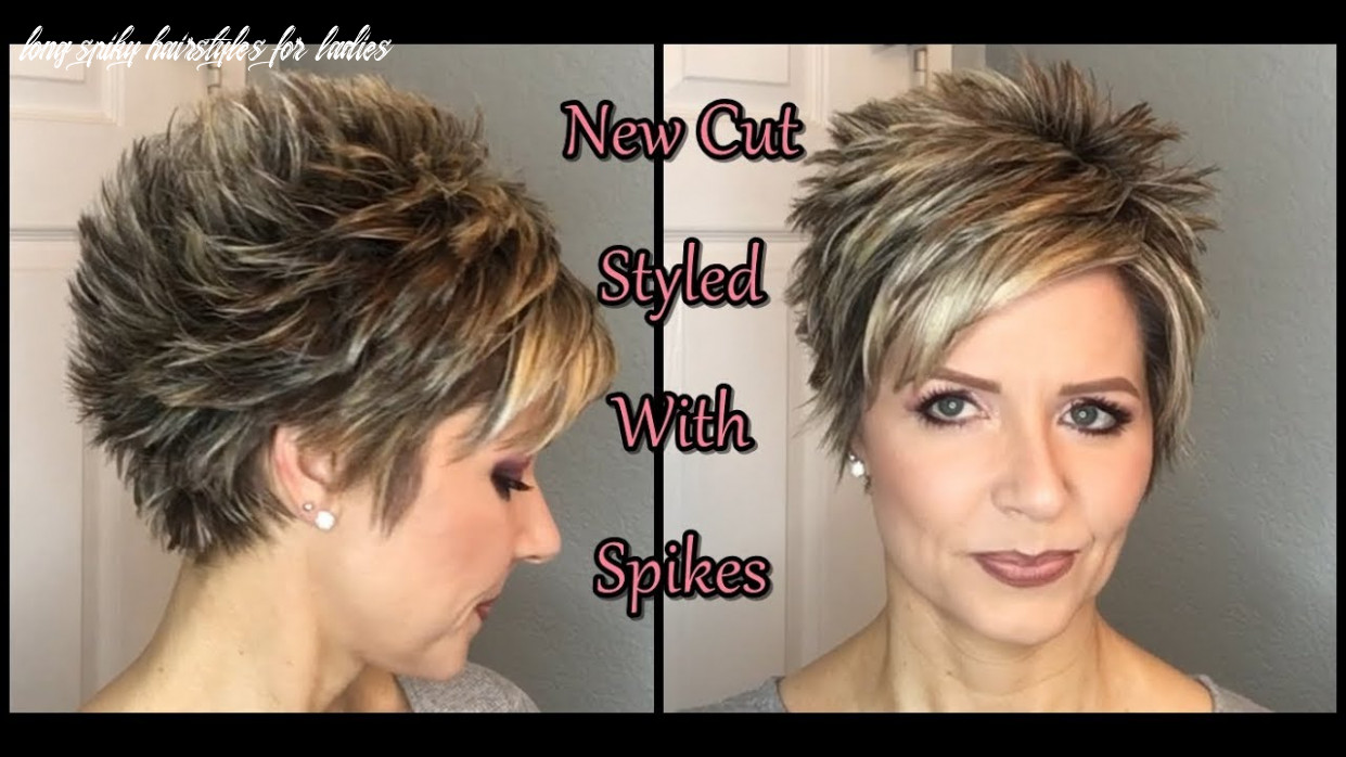 Hair tutorial: my new cut spiked style! long spiky hairstyles for ladies