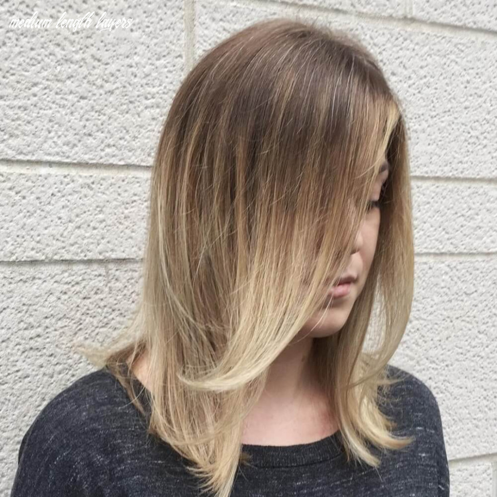 Haircut in layers new hair style medium length layers