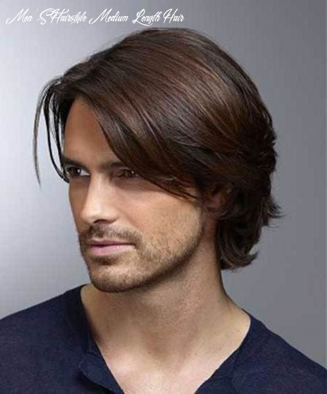 Hairstyle for medium length hair for men 10 images about men