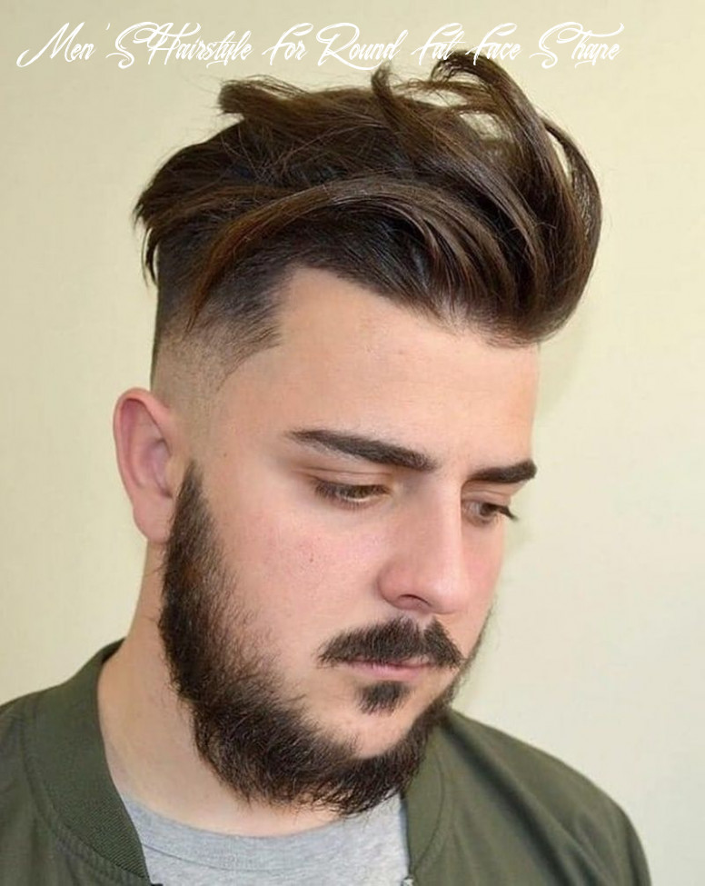 Hairstyle for round face man modern 10 hairstyles for round