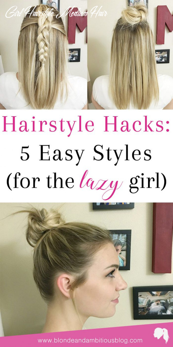 Hairstyle hacks: 11 easy styles | sporty hairstyles, lazy girl