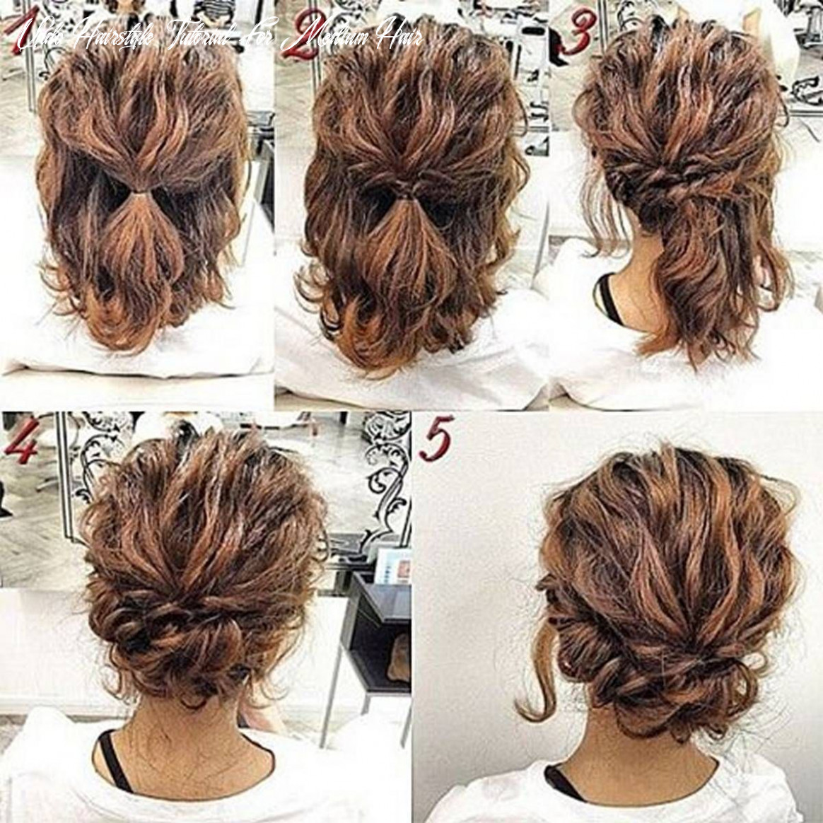 Hairstyles diy and tutorial for all hair lengths 12 | simple prom