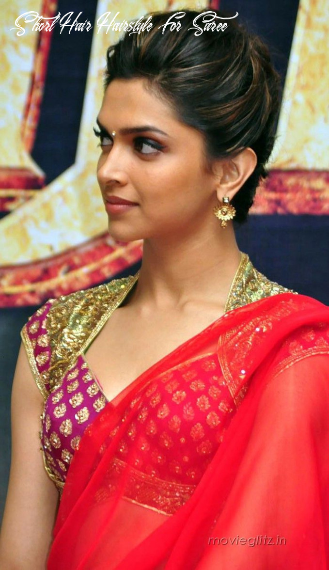 Hairstyles for saree 10 cute hairstyles to wear with saree short hair hairstyle for saree