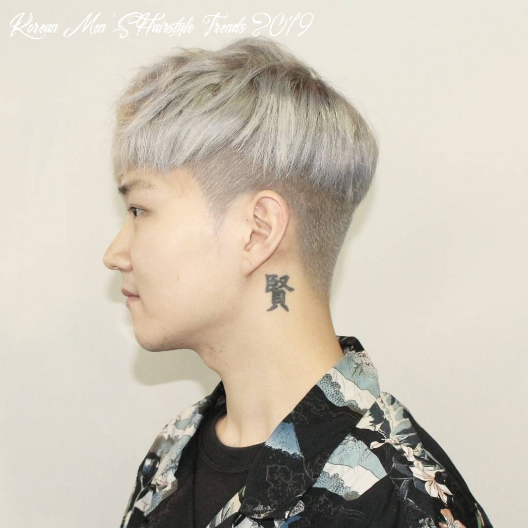 Hairstyles trends are getting huge popularity in korean man, that