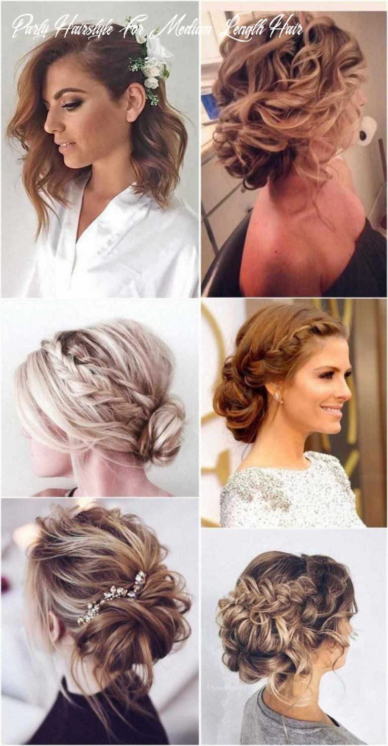 Hairstyles women party quick and easy hairstyles   medium hair