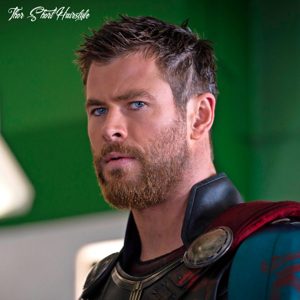 How to get the new chris hemsworth thor ragnarok haircut thor short hairstyle