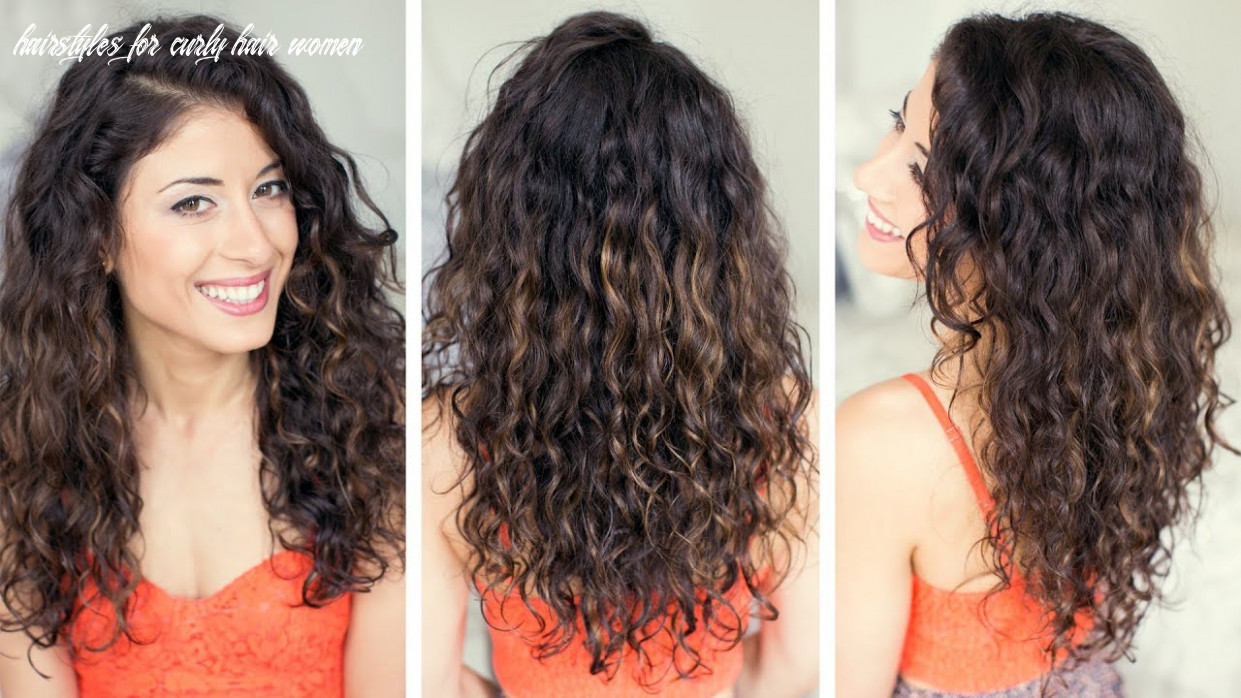 How to style curly hair hairstyles for curly hair women