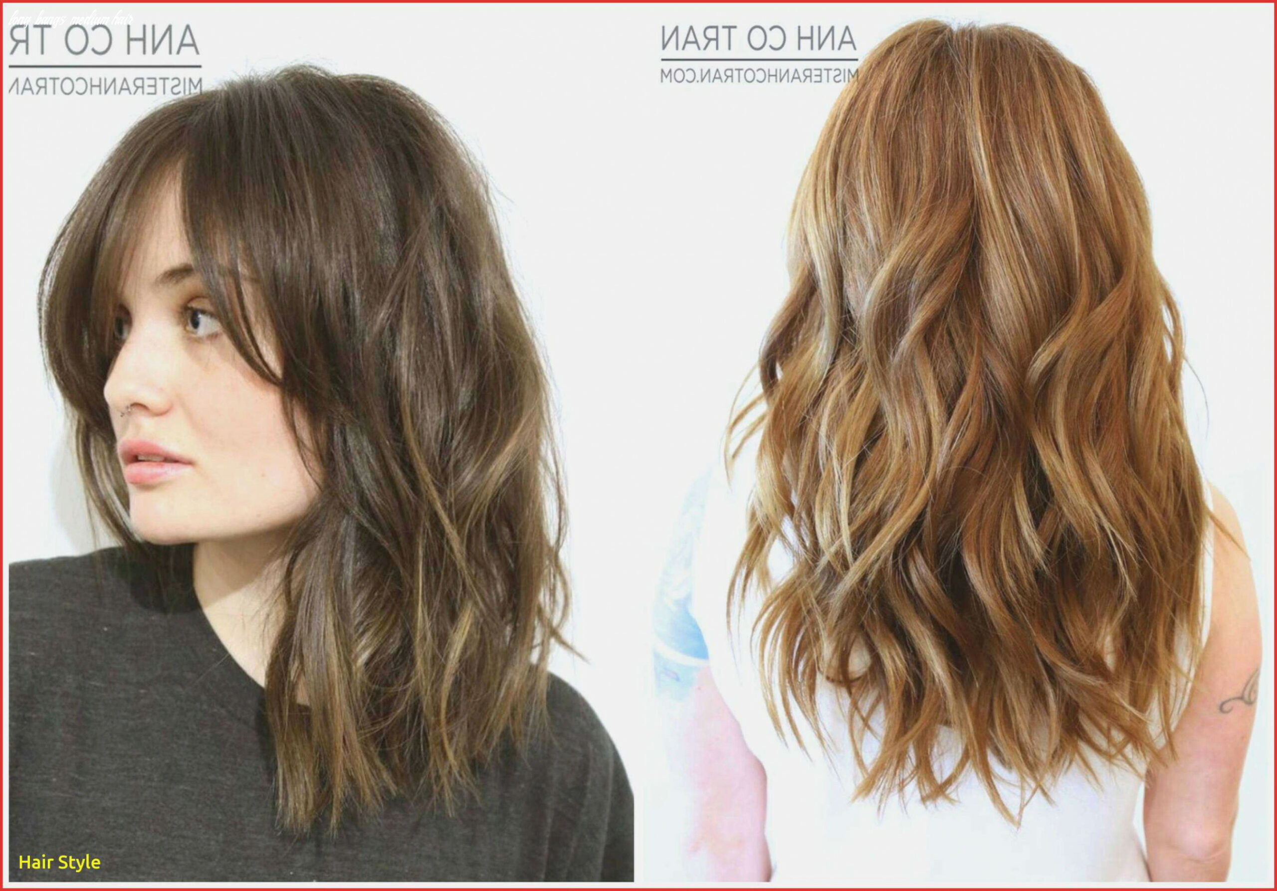 Long hair with side bangs unique haircuts with side bangs medium