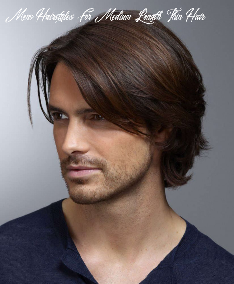 Long hairstyles for guys with thin hair google search | mens